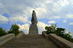 Plovdiv monument Arkivfoto