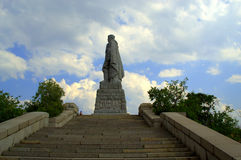 Plovdiv monument. Aliosha,russian soldier.Picture taken on July 10th,2014,Bulgaria stock photo