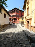 Plovdiv old quarter Royalty Free Stock Images