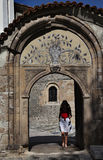 Plovdiv old town archway Royalty Free Stock Photo