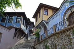 Plovdiv Old Town,Bulgaria Royalty Free Stock Images