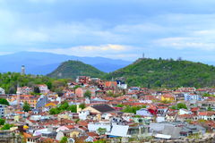 Plovdiv old town Stock Photography