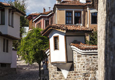 Plovdiv old town Royalty Free Stock Image