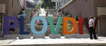 Plovdiv 2019 Royalty Free Stock Photos