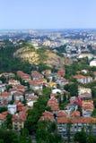 Plovdiv pejzaż miejski obraz royalty free