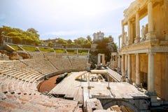 Plovdiv Roman theater stock afbeeldingen
