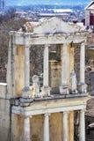 Plovdiv Roman theater, detail stock fotografie