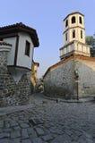 Plovdiv. Sakral Konstantin och Elenas kyrka Arkivbild