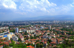 Plovdiv scenic view Royalty Free Stock Images