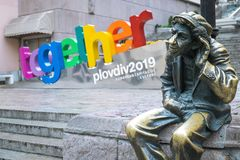 Plovdiv Together Logo royalty free stock photography