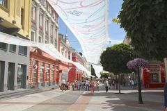 Plovdiv town Royalty Free Stock Photos