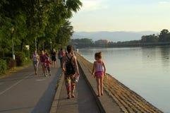 Plovdiv wioślarstwa kanał obraz royalty free