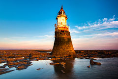 Plover Scar Lighthouse Stock Images