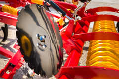 Plow in agricultural fair Royalty Free Stock Photo