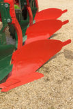 Plow for a Farming Tractor Stock Photography