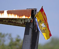 Plow plough new brunswick flag Stock Image