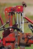 Plow plough tools Royalty Free Stock Image