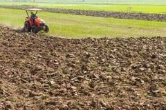 Plow soil Stock Photo