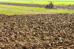 Plow soil Stock Photography
