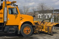 Plow Truck royalty free stock image