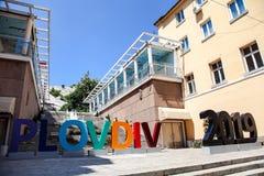 PLOWDIW, BULGARIEN - 26. JUNI 2015 Stockfoto
