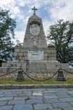 PLOWDIW, BULGARIEN AM 11. JUNI 2017: Das Monument zum Kaiser Alexander II. am Bunardzhik-tepe Hügelhügel von libertadors in der S Stockbild