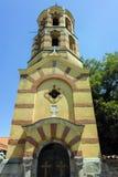 PLOWDIW, BULGARIEN - 10. JUNI 2017: SV Nedelya-Kirche in der alten Stadt der Stadt von Plowdiw Lizenzfreies Stockfoto