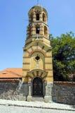 PLOWDIW, BULGARIEN - 10. JUNI 2017: SV Nedelya-Kirche in der alten Stadt der Stadt von Plowdiw Lizenzfreie Stockfotografie