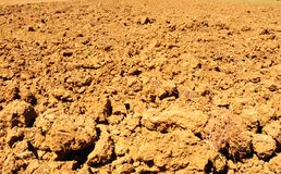 Plowed Field. Freshly Plowed Field In Autumn Ready For Cultivation Stock Image