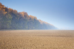 A plowed field Royalty Free Stock Photography