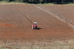 Plowed field Royalty Free Stock Photo