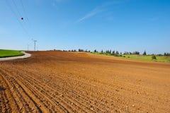 Plowed Fields in Israel Royalty Free Stock Image
