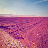 Plowed Fields Royalty Free Stock Photos
