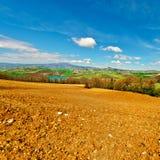 Plowed Fields Stock Image