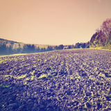 Plowed Fields Stock Photos