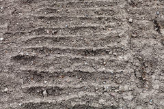 Plowed ground of vegetable garden Royalty Free Stock Photography