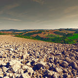 Plowed Hills Stock Photos