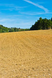 Plowed  Hills Royalty Free Stock Photography