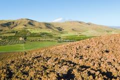 Plowed land Royalty Free Stock Photos