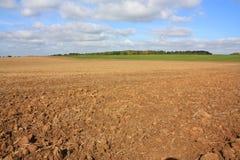 Plowed land Royalty Free Stock Image