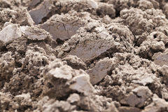Plowed land, close-up Stock Photography