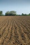 Plowed land Stock Photos