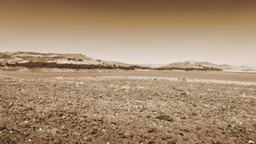 Plowed Shore Stock Photography