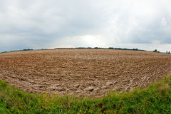 Plowed soil Royalty Free Stock Images