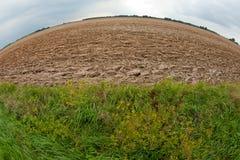 Plowed soil Stock Image