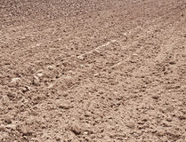 Plowed soil Royalty Free Stock Photo