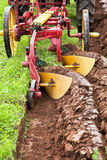 Plowing Field Royalty Free Stock Photo
