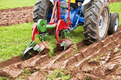 Plowing Field Stock Images