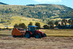 Plowing of the fields Stock Image