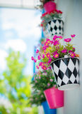 Plástico da flor Fotografia de Stock
